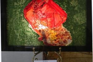 Витраж - светильник Минерал