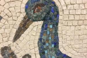 Мозаичное панно Аллегория рая