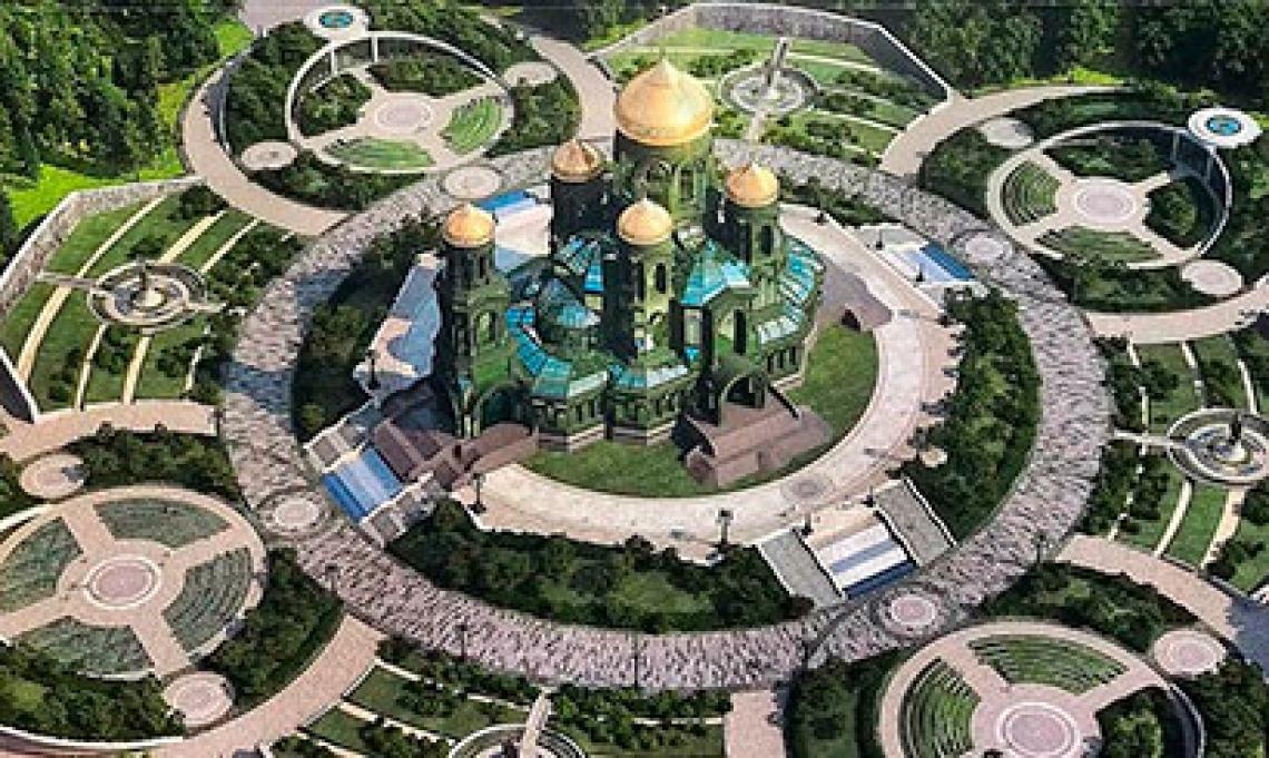 Выставка Небесные покровители армии и флота России. Кубинка в парке Патриот 24 июня 2020 года