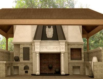 Печь, очаг и камин Ассамблея